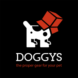 logo Doggys inverzní RGB